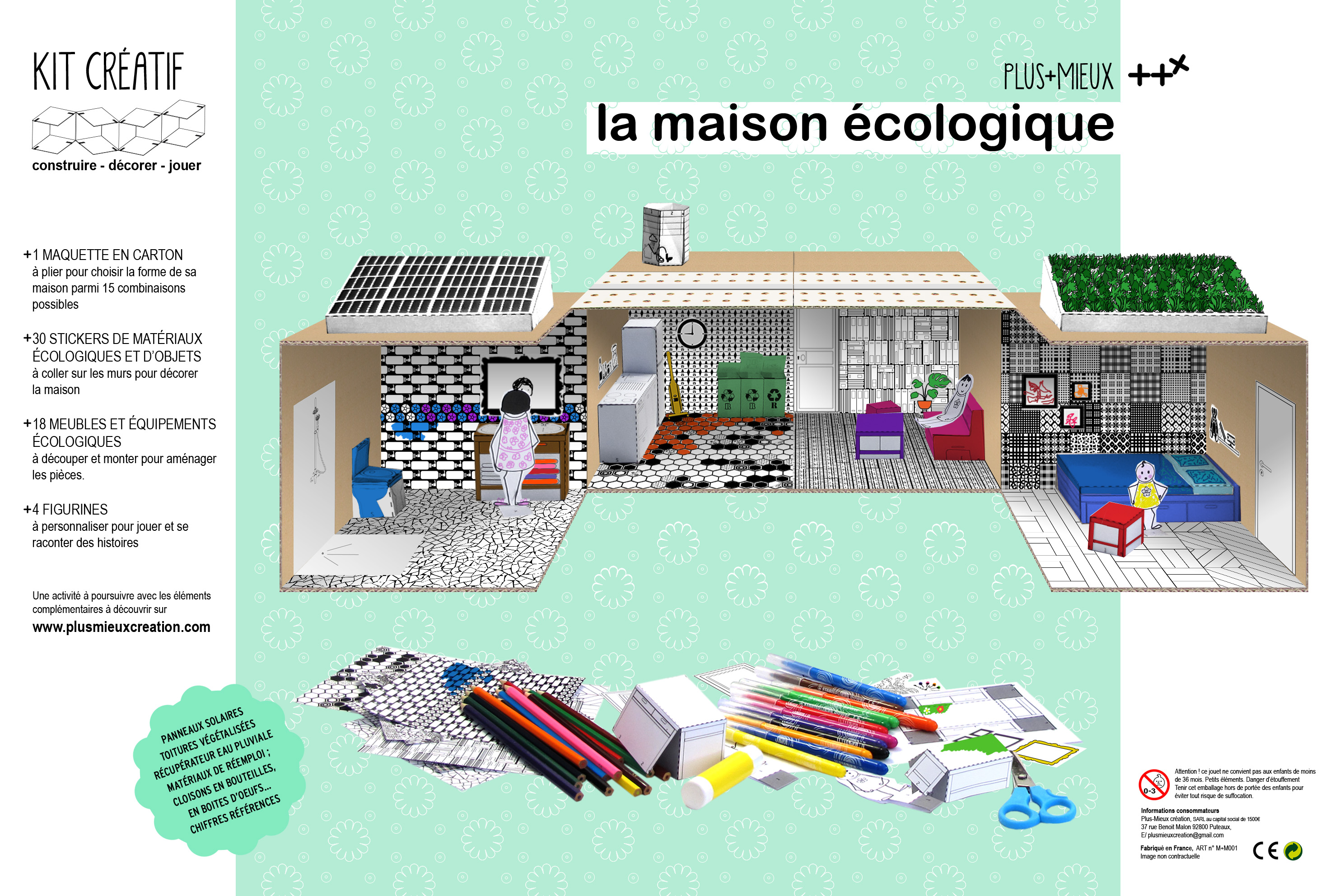 la maison cologique plus mieux. Black Bedroom Furniture Sets. Home Design Ideas