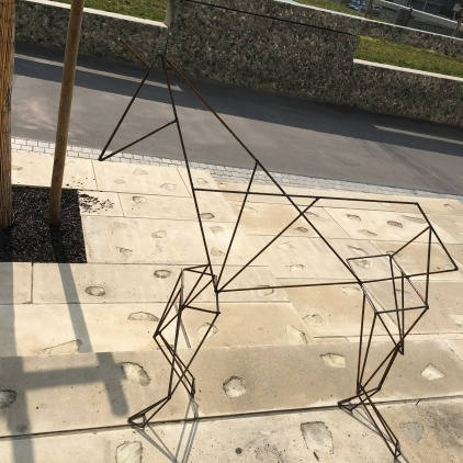 une structure de licorne