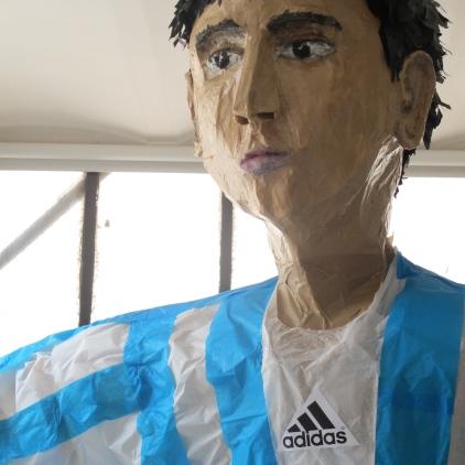 un footballeur pour un anniversaire