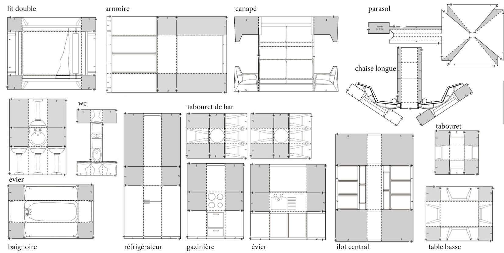 la maison contemporaine plus mieux. Black Bedroom Furniture Sets. Home Design Ideas