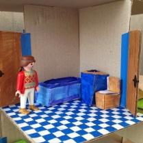 Création Apolline : une salle de bains bleue